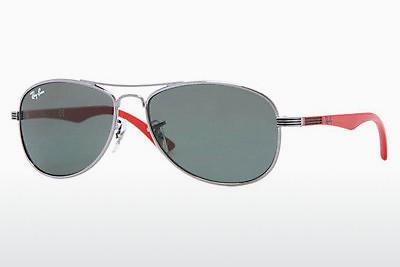 Sonnenbrille Ray-Ban Junior RJ9529S 200/71 - Grau, Rotguss