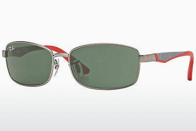 Sonnenbrille Ray-Ban Junior RJ9533S 242/71 - Grau, Rotguss