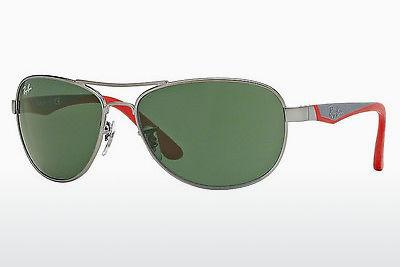 Sonnenbrille Ray-Ban Junior RJ9534S 242/71 - Grau, Rotguss