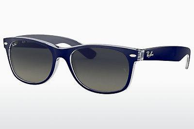 Sonnenbrille Ray-Ban NEW WAYFARER (RB2132 605371) - Blau, Transparent