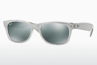 Sonnenbrille Ray-Ban NEW WAYFARER (RB2132 614440) - Silber, Transparent