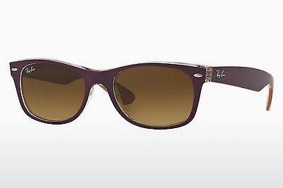 Sonnenbrille Ray-Ban NEW WAYFARER (RB2132 619285) - Purpur