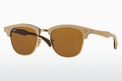 Sonnenbrille Ray-Ban CLUBMASTER (M) (RB3016M 1179) - Braun