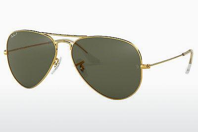 Sonnenbrille Ray-Ban AVIATOR LARGE METAL (RB3025 001/58) - Gold