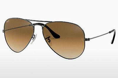 Sonnenbrille Ray-Ban AVIATOR LARGE METAL (RB3025 004/51) - Grau, Rotguss