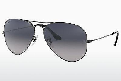 Sonnenbrille Ray-Ban AVIATOR LARGE METAL (RB3025 004/78) - Grau