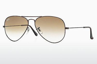 Sonnenbrille Ray-Ban AVIATOR LARGE METAL (RB3025 014/51) - Braun