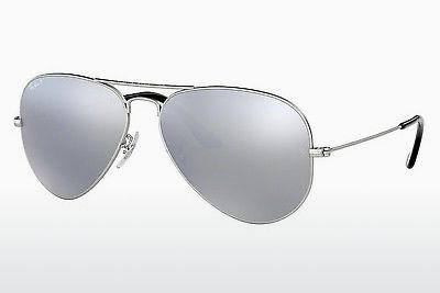 Sonnenbrille Ray-Ban AVIATOR LARGE METAL (RB3025 019/W3) - Silber