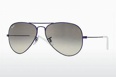 Sonnenbrille Ray-Ban AVIATOR LARGE METAL (RB3025 087/32) - Grau, Purpur