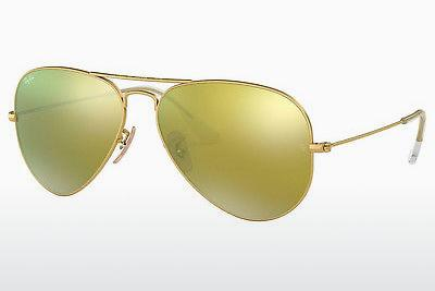 Sonnenbrille Ray-Ban AVIATOR LARGE METAL (RB3025 112/93) - Gold