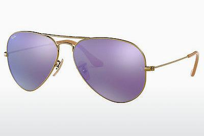 Sonnenbrille Ray-Ban AVIATOR LARGE METAL (RB3025 167/1M) - Braun