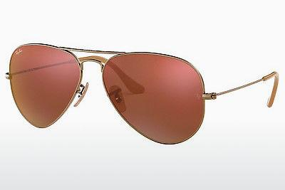 Sonnenbrille Ray-Ban AVIATOR LARGE METAL (RB3025 167/2K) - Braun, Bronze