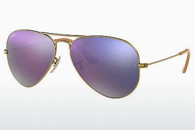Sonnenbrille Ray-Ban AVIATOR LARGE METAL (RB3025 167/4K) - Braun, Bronze