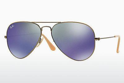Sonnenbrille Ray-Ban AVIATOR LARGE METAL (RB3025 167/68) - Braun, Bronze