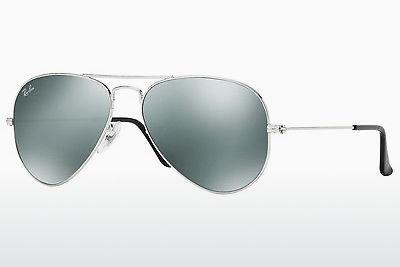 Sonnenbrille Ray-Ban AVIATOR LARGE METAL (RB3025 W3275) - Silber