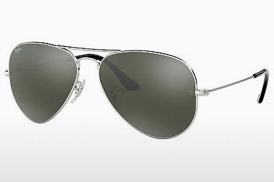 Sonnenbrille Ray-Ban AVIATOR LARGE METAL (RB3025 W3277) - Silber