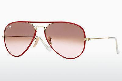 Sonnenbrille Ray-Ban AVIATOR FULL COLOR (RB3025JM 001/X3) - Gold, Rot