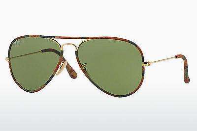Sonnenbrille Ray-Ban AVIATOR FULL COLOR (RB3025JM 168/4E) - Gold