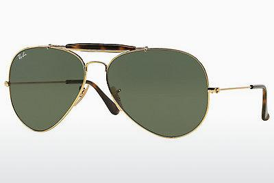 Sonnenbrille Ray-Ban OUTDOORSMAN II (RB3029 181) - Gold