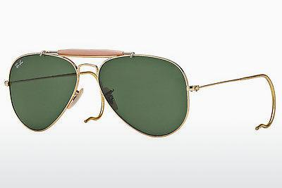 Sonnenbrille Ray-Ban OUTDOORSMAN (RB3030 L0216) - Gold
