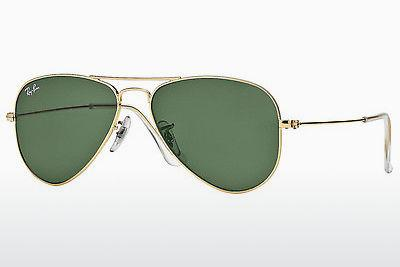 Sonnenbrille Ray-Ban AVIATOR SMALL METAL (RB3044 L0207) - Gold