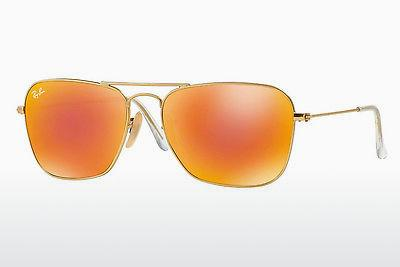 Sonnenbrille Ray-Ban CARAVAN (RB3136 112/69) - Gold