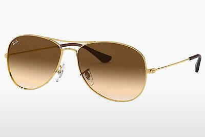 Sonnenbrille Ray-Ban COCKPIT (RB3362 001/51) - Gold