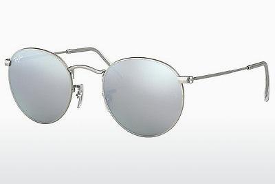 Sonnenbrille Ray-Ban ROUND METAL (RB3447 019/30) - Silber