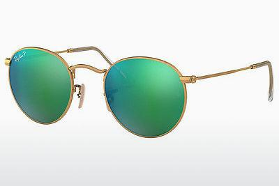 Sonnenbrille Ray-Ban ROUND METAL (RB3447 112/P9) - Gold