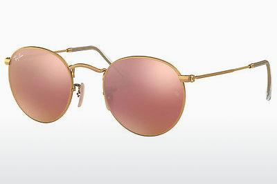 Sonnenbrille Ray-Ban ROUND METAL (RB3447 112/Z2) - Gold