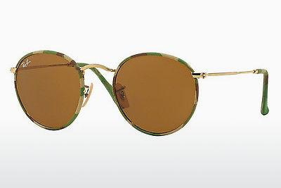 Sonnenbrille Ray-Ban ROUND METAL (M) (RB3447JM 169) - Gemustert, Camouflage