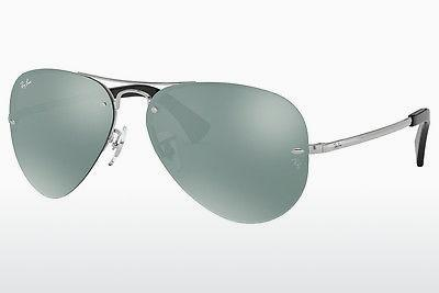 Sonnenbrille Ray-Ban RB3449 003/30 - Silber