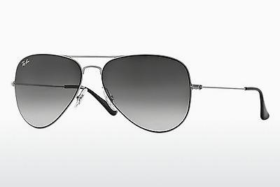 Sonnenbrille Ray-Ban AVIATOR FLAT METAL (RB3513 154/8G) - Silber