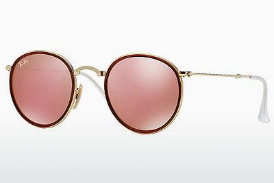 Sonnenbrille Ray-Ban ROUND (RB3517 001/Z2) - Gold