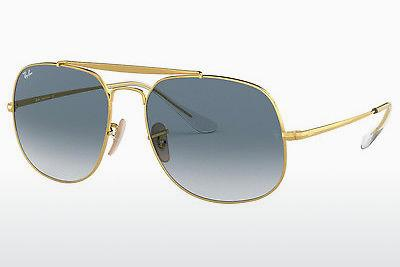 Sonnenbrille Ray-Ban RB3561 001/3F - Gold