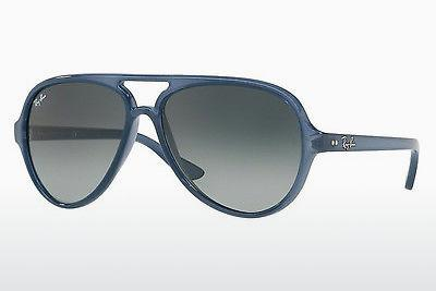 Sonnenbrille Ray-Ban CATS 5000 (RB4125 630371) - Transparent, Blau