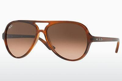 Sonnenbrille Ray-Ban CATS 5000 (RB4125 820/A5) - Braun, Havanna