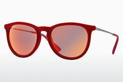 Sonnenbrille Ray-Ban ERIKA (RB4171 60766Q) - Rot