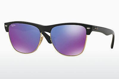 Sonnenbrille Ray-Ban CLUBMASTER OVERSIZED (RB4175 877/1M) - Schwarz