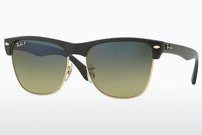 Sonnenbrille Ray-Ban CLUBMASTER OVERSIZED (RB4175 877/76) - Transparent, Schwarz
