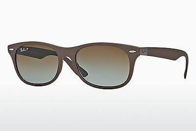 Sonnenbrille Ray-Ban RB4207 6033T5 - Braun