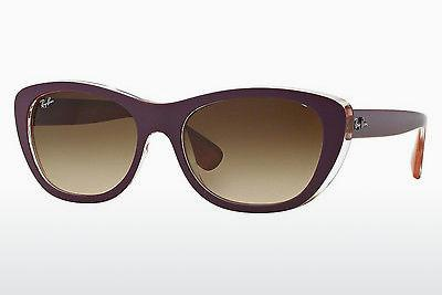 Sonnenbrille Ray-Ban RB4227 619213 - Purpur, Violet