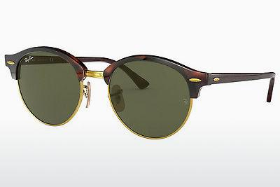 Sonnenbrille Ray-Ban Clubround (RB4246 990) - Braun, Havanna