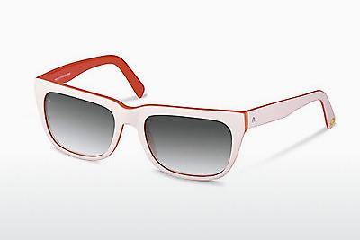 Sonnenbrille Rocco by Rodenstock RR309 E - Weiß, Rot