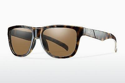 Sonnenbrille Smith LOWDOWN SLIM/N C57/HB - Braun, Havanna