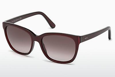 Sonnenbrille Tod's TO0159 69Z - Burgund, Bordeaux, Shiny