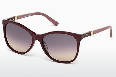 Sonnenbrille Tod's TO0175 69Z - Burgund, Bordeaux, Shiny