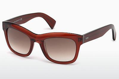 Sonnenbrille Tod's TO0187 69F - Burgund, Bordeaux, Shiny