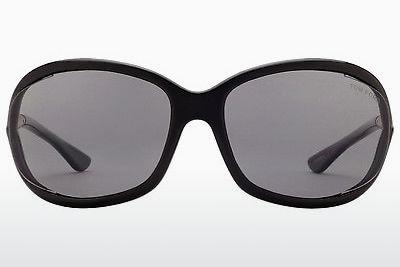 Sonnenbrille Tom Ford Jennifer (FT0008 01D) - Schwarz, Shiny