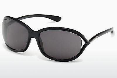 Sonnenbrille Tom Ford Jennifer (FT0008 199) - Schwarz